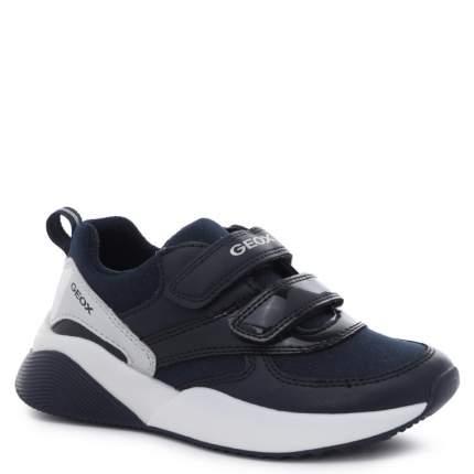 Кроссовки для девочек Geox, цв. темно-синий, р.26