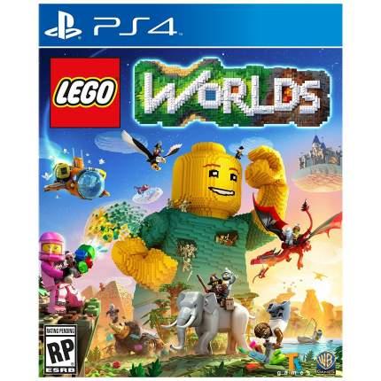 Игра LEGO Worlds для PlayStation 4