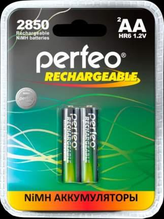 Аккумулятор Perfeo AA2850mAh/2BL Пластик