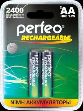 Аккумулятор Perfeo AA2400mAh/2BL Пластик