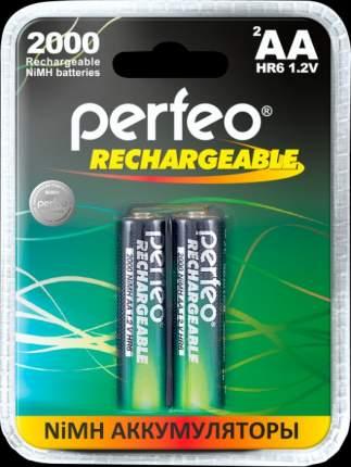 Аккумулятор Perfeo AA2000mAh/2BL Пластик