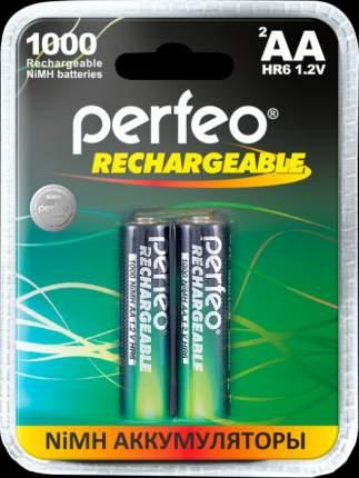 Аккумулятор Perfeo AA1000mAh/2BL Пластик