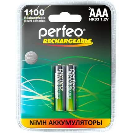 Аккумулятор Perfeo AAA1100mAh/2BL Пластик