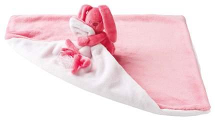Игрушка мягкая Nattou Doudou большая Lapidou Кролик coral-light pink