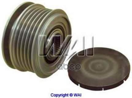 Обгонный шкив генератора WAI 2494274