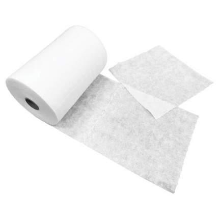 Салфетки одноразовые в рулоне ЧИСТОВЬЕ нестерильные 200 шт. 20х20 см спанлейс белые