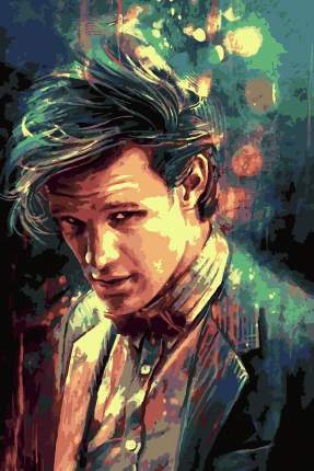 Картина по номерам Красиво Красим Доктор Кто - 11 доктор, 50 х 70 см