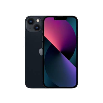 Смартфон Apple iPhone 13 256GB Midnight (MLP23RU/A)