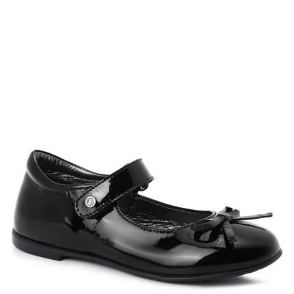 Туфли для девочек Naturino, цв. черный, р.24
