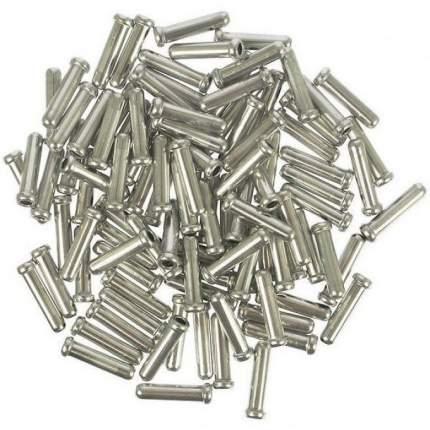 Концевик Shimano алюминий д/троса тормоза, (100шт) Y62098040