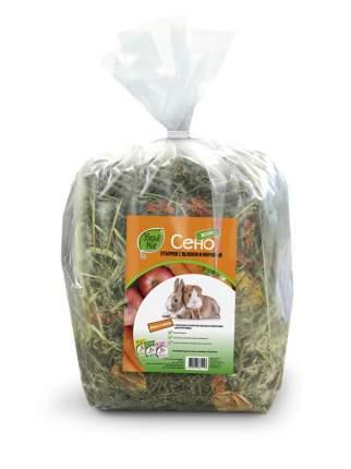 Корм для все грызуны Зверье мое, Сено луговое с яблоком и морковью, 0.5 кг