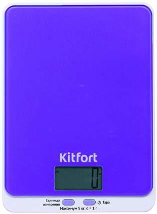 Весы кухонные Kitfort KT-803-6 Purple