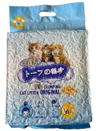 Комкующийся наполнитель для кошек HAKASE AREKKUSU Тофу кукурузный, 2.8 кг, 6 л,