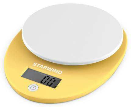 Весы кухонные STARWIND SSK2259 Yellow
