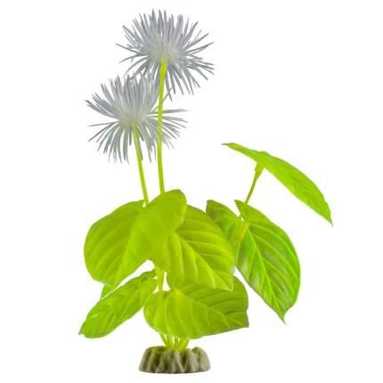 Искусственное растение для аквариума GLOFISH , Растение L желтое с GLO-эффектом