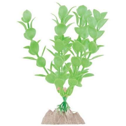 Искусственное растение для аквариума GLOFISH ,  S зеленое, пластик