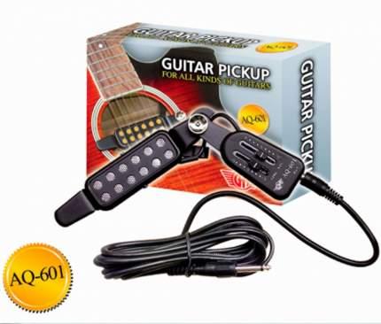 Звукосниматель электромагнитный встраиваемый Gh Aq-601, в резонаторное отверстие гитары