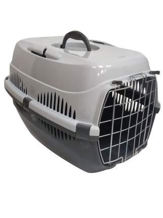 Контейнер для кошки, собаки Дарэлл СПУТНИК-ZooM, 33x49x32см, серый