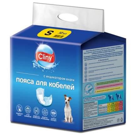 Подгузники для домашних животных Cliny , одноразовое, размер S, 12 шт