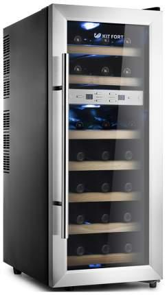 Винный шкаф Kitfort KT-2406 Silver