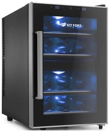 Винный шкаф Kitfort KT-2405 Black