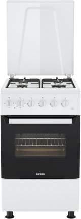 Комбинированная плита Gorenje KNF5110W White