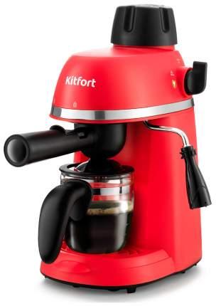 Кофеварка рожковая Kitfort КТ-760-1 Red/Black
