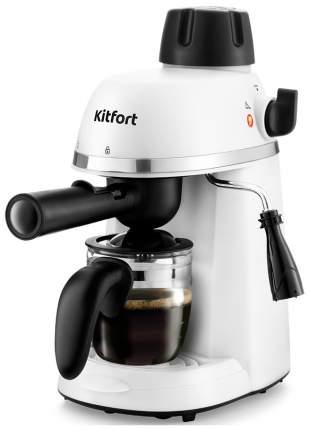Кофеварка рожковая Kitfort КТ-760-2 White/Black