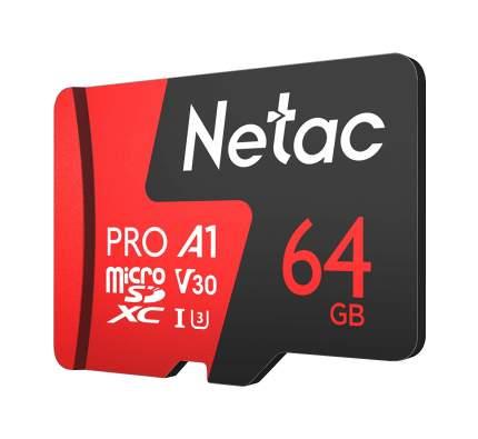 Карта памяти Netac P500 Extreme Pro microSD 64GB (NT02P500PRO-064G-S)