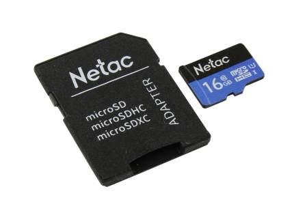 Карта памяти Netac P500 microSDHC 16GB (NT02P500STN-016G-R)