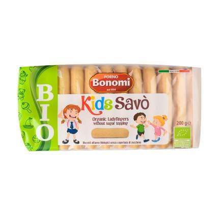 Печенье Savoiardi Kinder сахарное bio 200 г