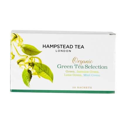 Чай зеленый Hampstead ассорти 20*2 г