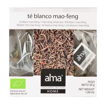 Чай белый Alma Home Organic Маофэн 15*2 г
