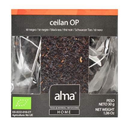 Чай черный Organic Alma Home цейлонский 15*1.86 г