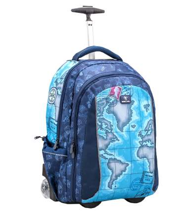 Рюкзак на колесах Belmil Easy Go - World Map