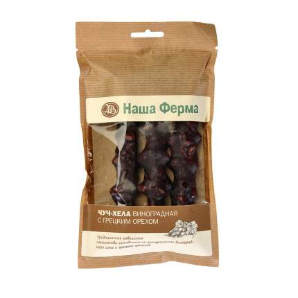 Чурчхела Наша Ферма с грецким орехом виноградная 135 г