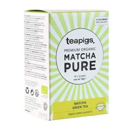 Чай зеленый Teapigs матча organic 14*1 г