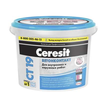 "Грунтовка бетонконтакт ct 19 15 кг ""Ceresit"""