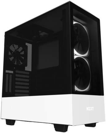 Компьютерный корпус NZXT H510 Elite Matte White без БП (CA-H510E-W1)