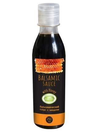Бальзамический соус с мёдом, KORVEL, пластиковая бутылка 250 мл