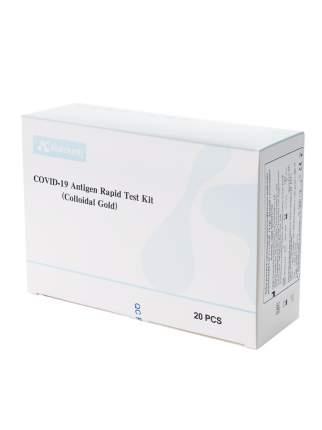 Экспресс-тест на коронавирус (COVID/КОВИД) COVID-19 ANTIGEN RAPID TEST KIT 20 шт.