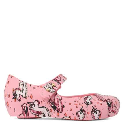 Туфли для девочек Mini Melissa, цв. розовый, р.24