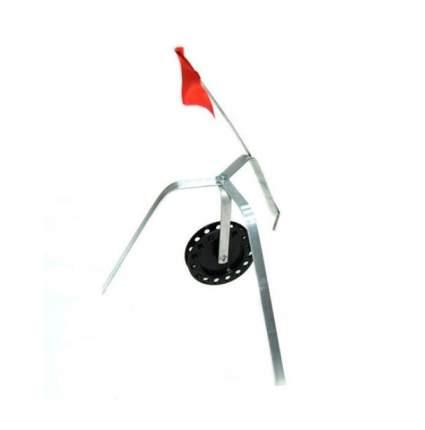 Технолит Жерлица тренога с флажком Технолит (металл, катушка 90мм)
