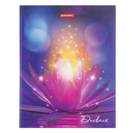 Дневник школьный 5-11 класс Brauberg Удивительный цветок 48л, твердый переплет