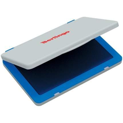 Штемпельная подушка 100*80мм синяя