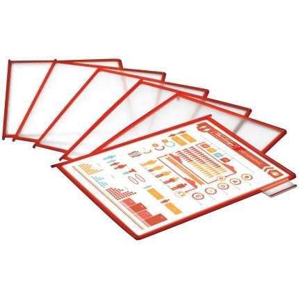 Демо-панель A4 красная 210936