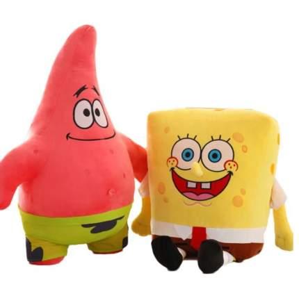 Мягкие игрушки Wellywell Патрик и Губка Боб 2шт, 30 см