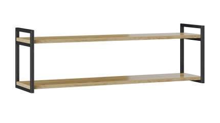 Полка настенная Трия Лофт тип 2, светло-коричневый