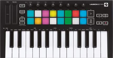 MIDI-клавиатура Novation Launchkey Mini MK3 (Black)