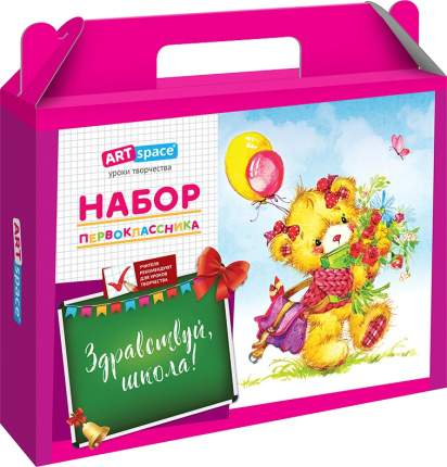 Коробка для набора первоклассника ArtSpace, для девочки